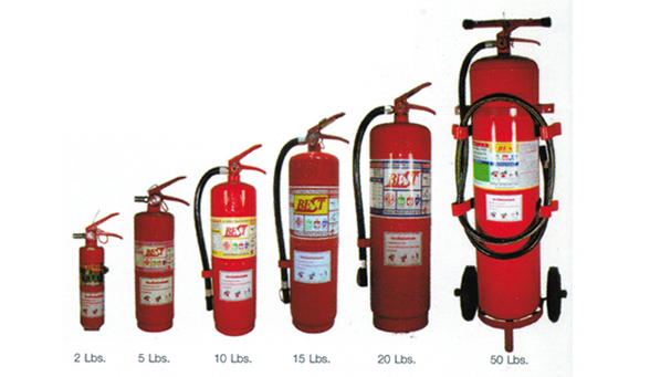 1.1 ถังดับเพลิง MULTI PURPOSE DRY CHEMICAL  FIRE EXTINGUISHER