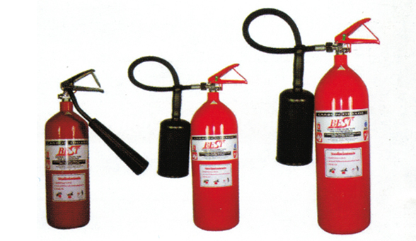 1.2 ถังดับเพลิง CO2 CARBON DIOXIDE FIRE EXTINGUISHER